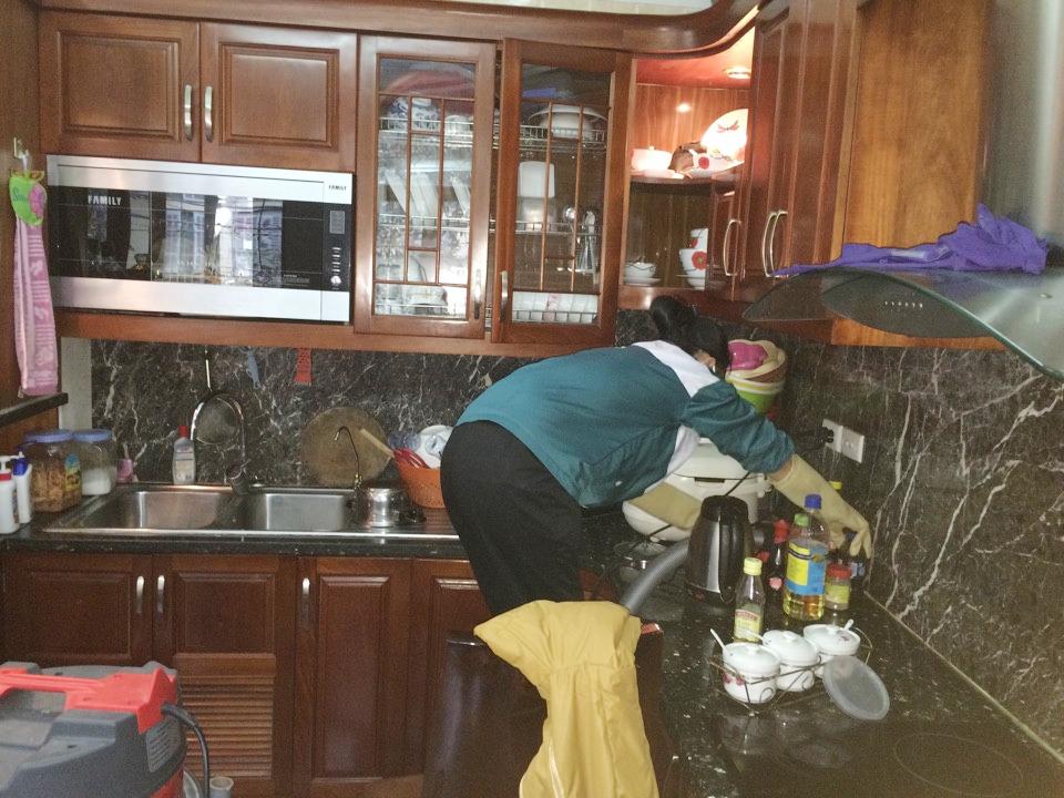 Những vật liệu làm sạch trong bếp bạn nên biết